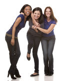 Group of casual women Stock Photography