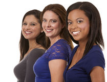 Group of casual women Stock Images