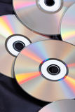 Group of CDs Stock Image