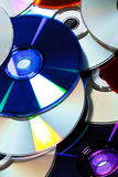 Group of CDs Royalty Free Stock Photography