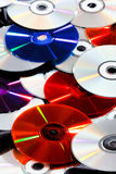 Group of CDs Stock Images