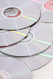 Group of CDs Royalty Free Stock Image