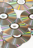 Group of CDs Royalty Free Stock Images