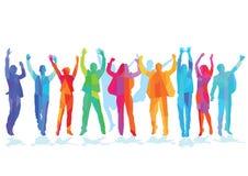 Group celebration Royalty Free Stock Images