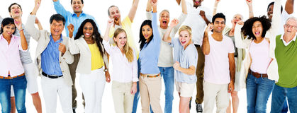 Group Celebration People Human Race Royalty Free Stock Image