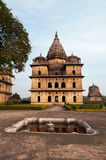 Group of Cenotaphs in Orchha Stock Photo