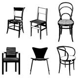 Group of chairs Stock Photography