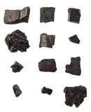 A Group Of Charcoal IV Royalty Free Stock Image