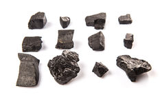 A Group Of Charcoal VI Royalty Free Stock Images
