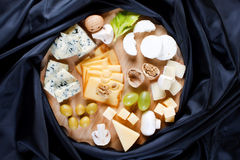 Group of cheeses Royalty Free Stock Image