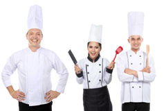 Group of chef Royalty Free Stock Image