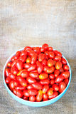 Group of cherry tomatoes Stock Image