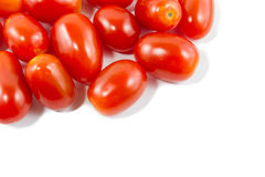 Group of cherry tomatoes Royalty Free Stock Photo