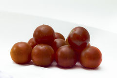 Group of cherry tomatoes Royalty Free Stock Photography