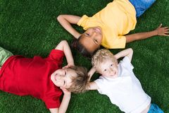 Group of children Royalty Free Stock Photo
