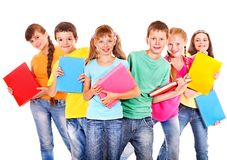 Group of children. Stock Image
