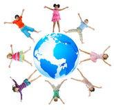 Group Children Celebrating Happiness Concept Royalty Free Stock Photo