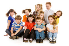 Group of children Stock Images