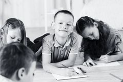 Group of children Stock Photography