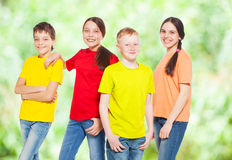 Group children Royalty Free Stock Photography
