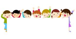 Group of children having fun Royalty Free Stock Photo