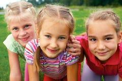 Group  children having good summertime Stock Photo
