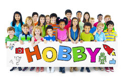 Group of Children with Hobby Concept Royalty Free Stock Photo