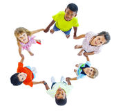 Group of Children Holding Hand Royalty Free Stock Photography