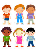 Group of children Royalty Free Stock Images