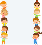 Group of children Stock Photo