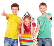 Group of children people. Stock Image