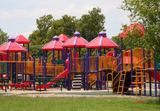 Group of children playground. A group of children playground stock photography