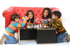 Group of children playing Stock Photos