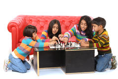 Group of children playing Stock Photo