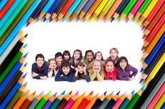 Group of children Stock Image