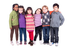Group of children Royalty Free Stock Image