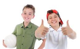 Group of children posing Royalty Free Stock Image