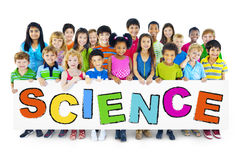 Group of Children with Science Concept Royalty Free Stock Images