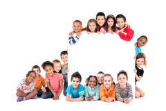 Group of children Royalty Free Stock Photos