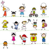 Group childrens