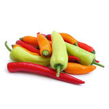Group of chilies Royalty Free Stock Photography