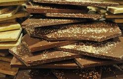 Group of chocolat Stock Photography
