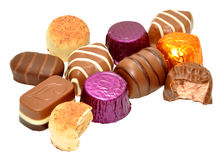 Group Of Chocolates Stock Image
