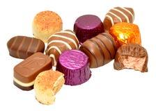 Group Of Chocolates Stock Image