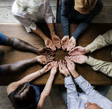 Group of christianity people praying hope together royalty free stock photography