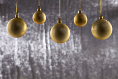 A group of Christmas ball Stock Images