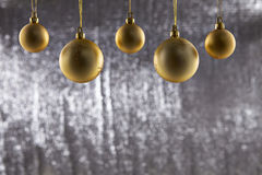 A group of Christmas ball Stock Photos