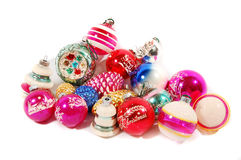 Group of Christmas ornaments Stock Photos