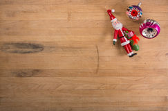 Group of Christmas Ornaments Stock Images