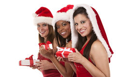 Group of christmas women Stock Photos
